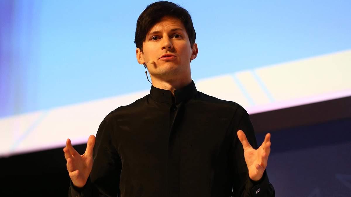CEO Telegram Павло Дуров