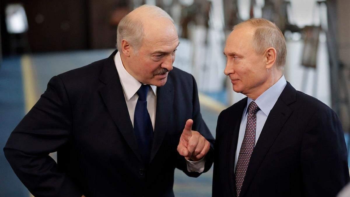 Війна компроматів: Лукашенко VS Путін
