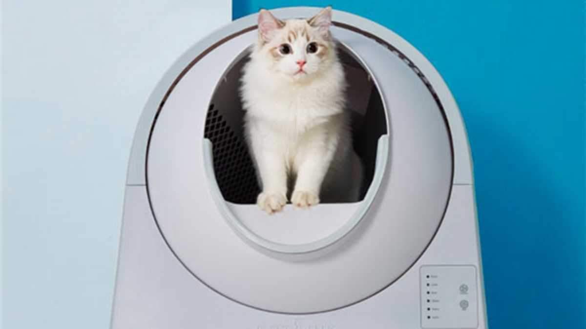 Умный туалет для кошек от  Xiaomi