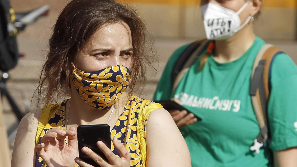 В Украине за сутки обнаружили еще 841 случай заражения коронавирусом