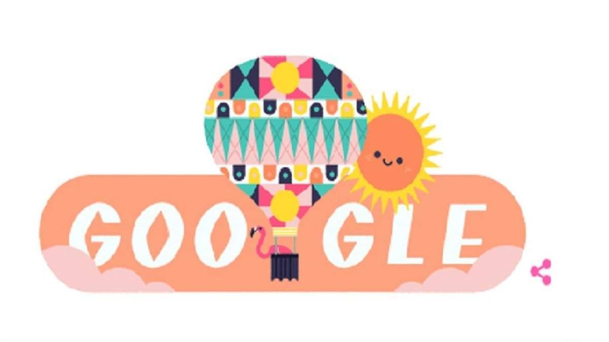 Новый дудл от Google - ко Дню летнего солнцестояния