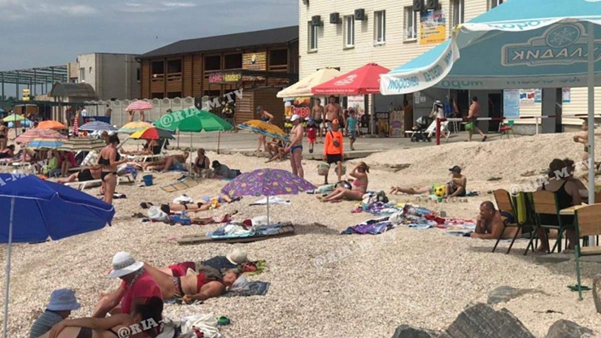 Пляжі в Кирилівці 20 червня 2020: фото, відео з пляжів