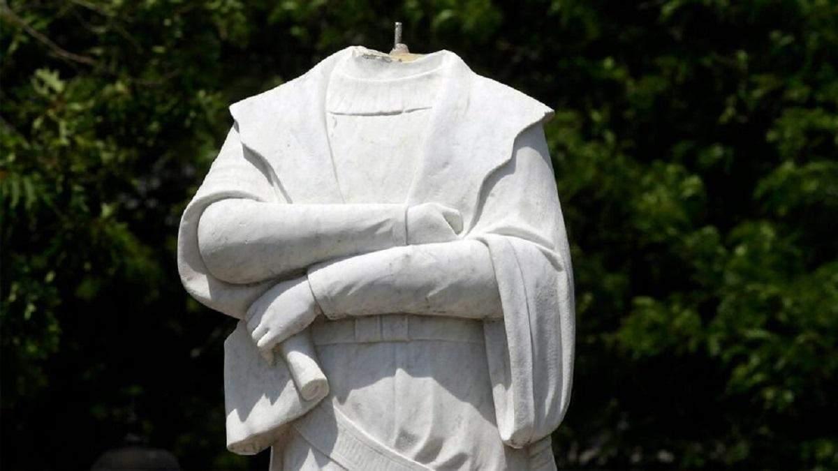 Такі були часи: росіяни засудили знесення пам'ятників рабовласникам у США