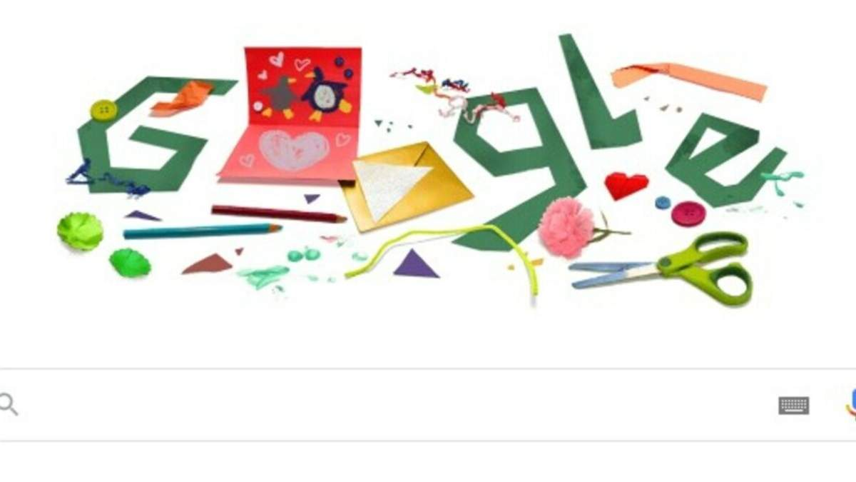 Google создал дудл по случаю Дня отца 21 июня 2020
