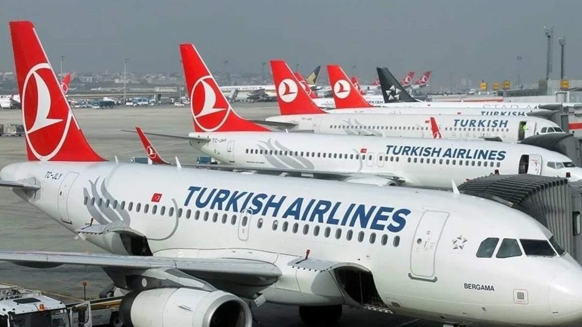 Ryanair, Swiss, Turkish Airlines відновлюють польоти в Україну: коли
