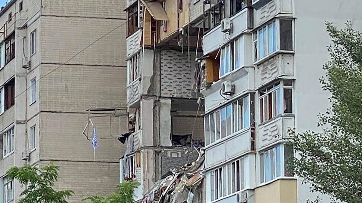 Взрыв на Позняках: среди пострадавших есть работники Укрзализныци
