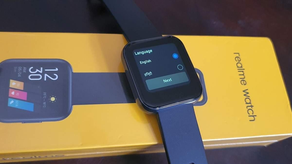 Смарт-часы Realme Watch получили поддержку украинского языка