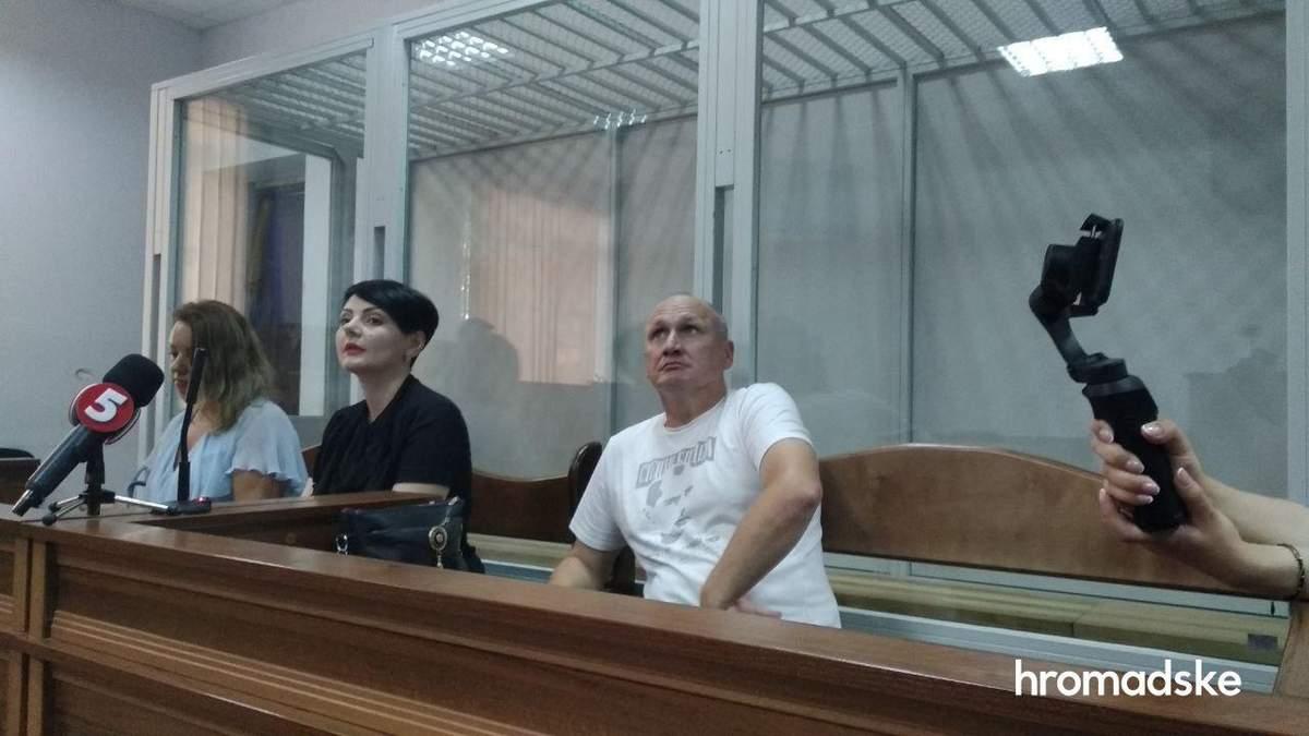 Микола Коханівський в залі суду