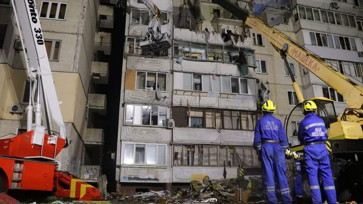 Взрыв дома на Позняках: спасатели нашли тело пятого погибшего
