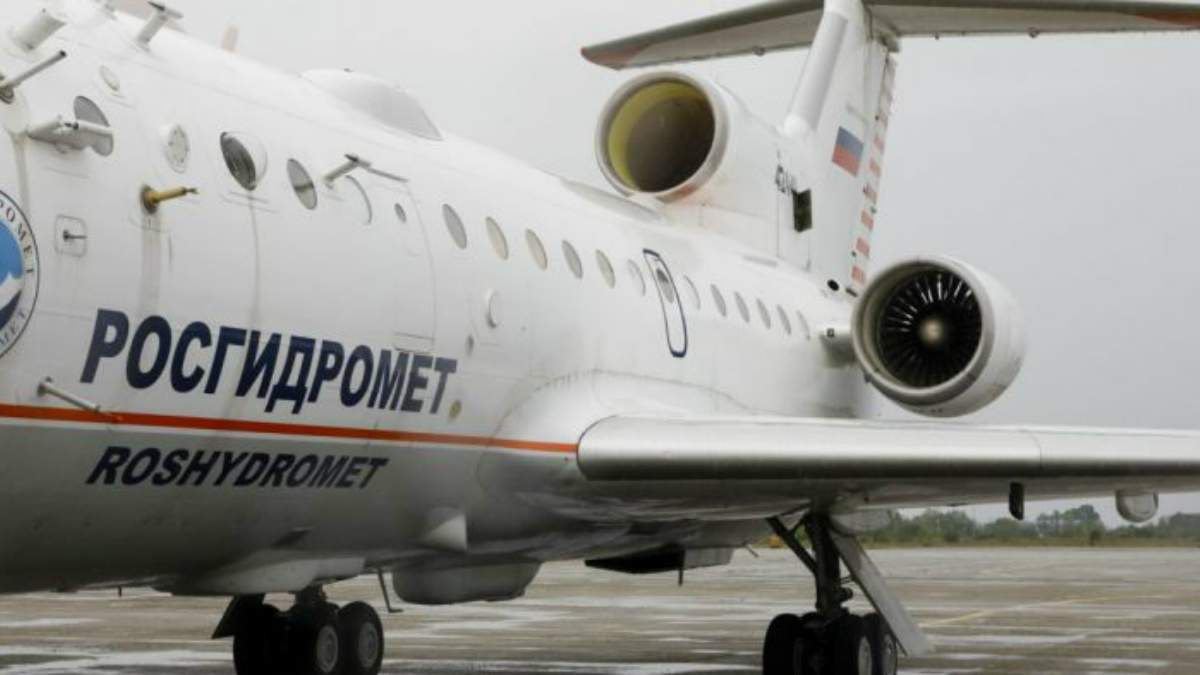 Російський літак для збільшення опадів