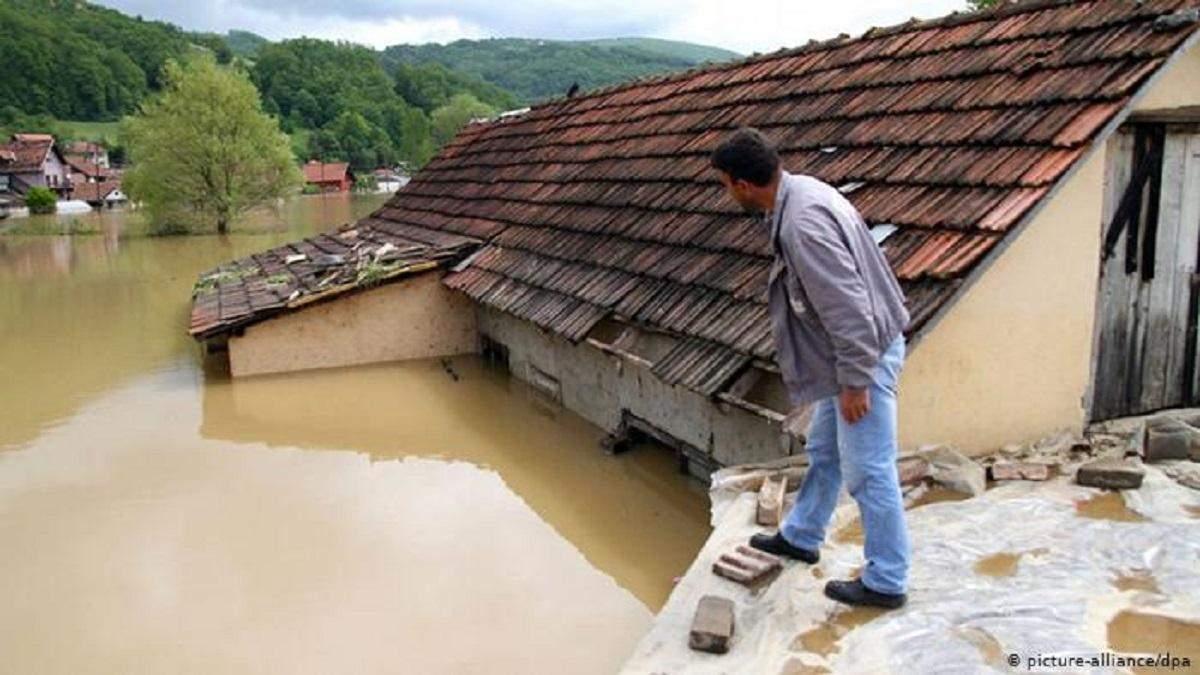 Потоп в Сербии июнь 2020: объявлено чрезвычайное положение