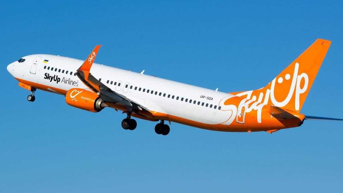 SkyUp відновлює внутрішнє авіасполучення: дата і напрямки
