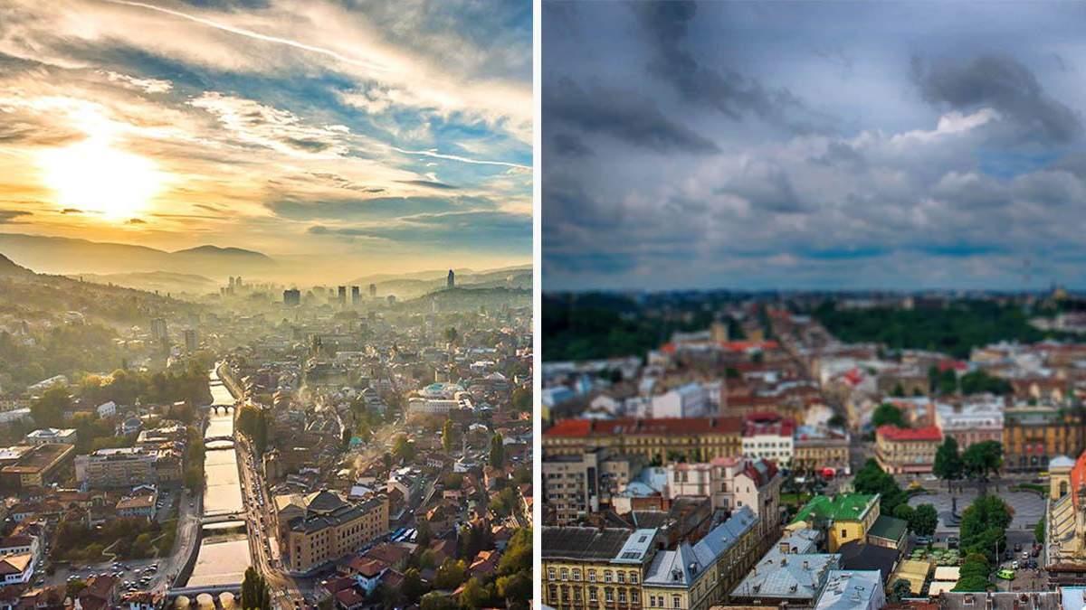 Війна та час залишили свій слід: як у Львові та Сараєвому рятують архітектуру
