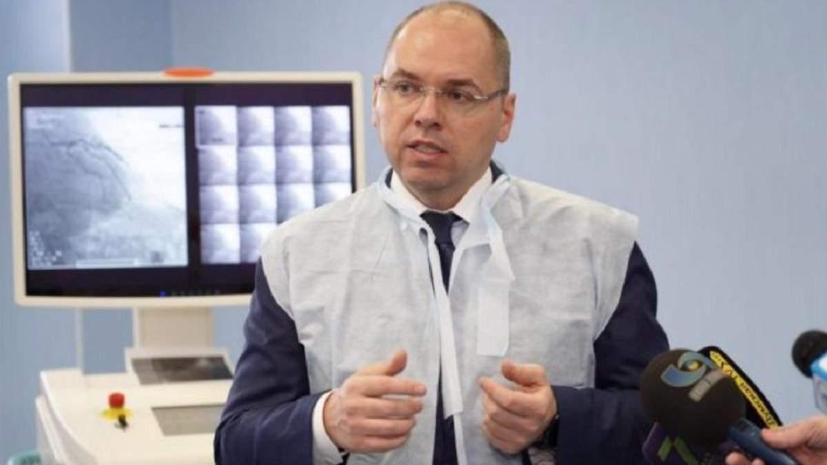 В Україні зростає кількість хворих на пневмонію, – Степанов