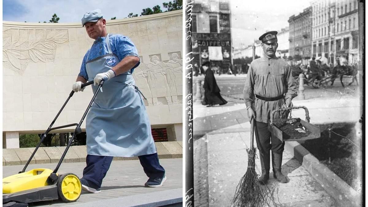 В Крыму оккупанты одели дворников в форму царских времен: что известно