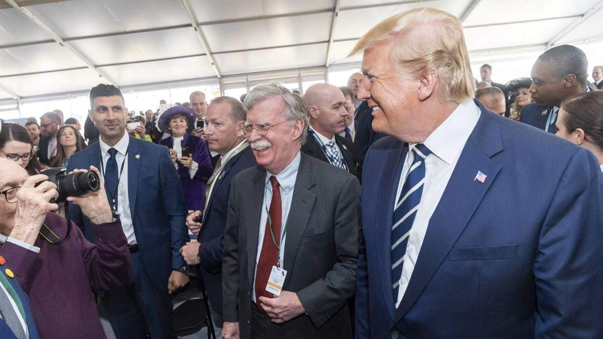 У світ вийшла скандальна книга ексрадника Трампа Джона Болтона