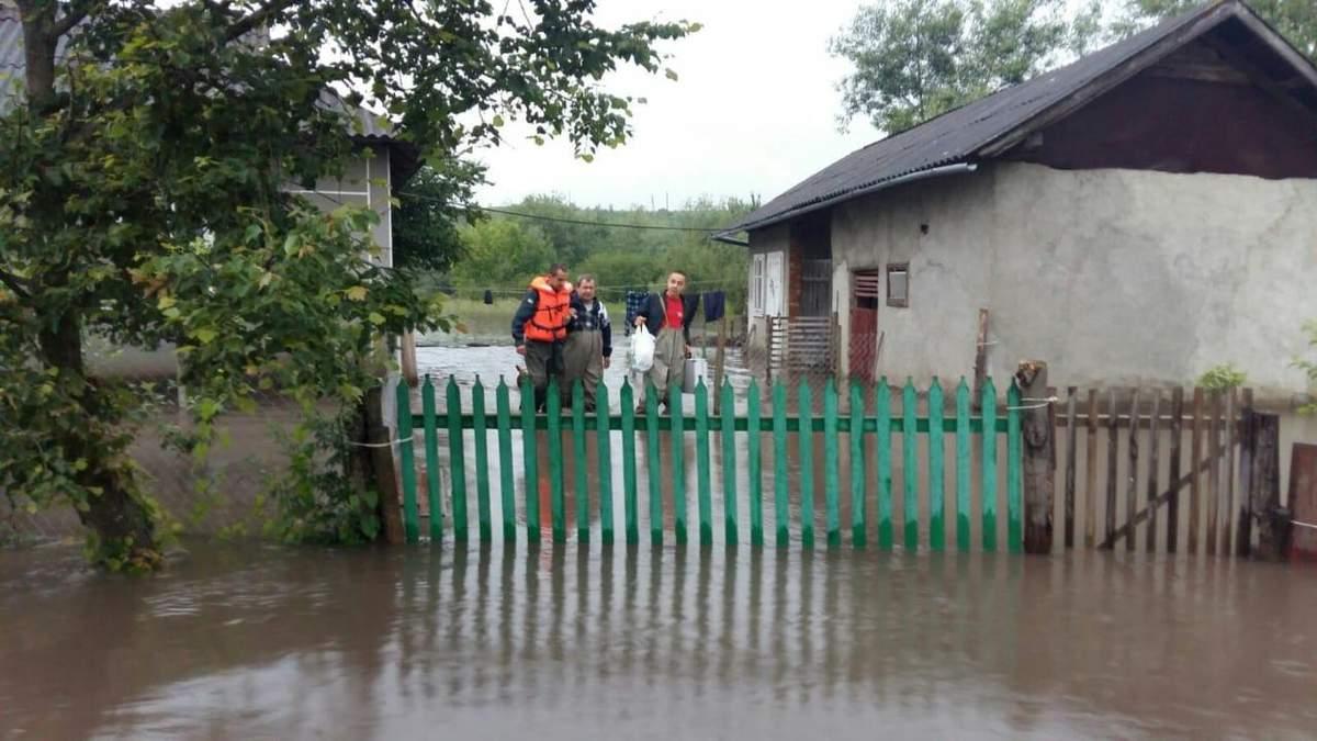 Причины наводнений в Украине