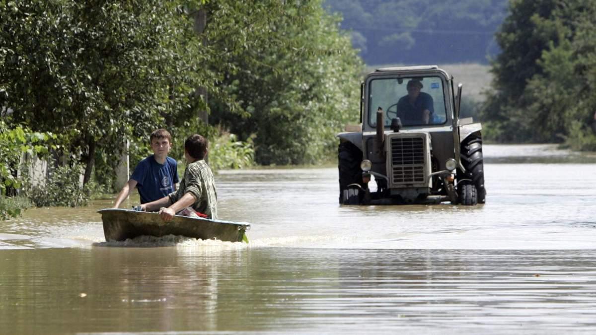 Украину затопило: крупнейшие наводнения за последние годы