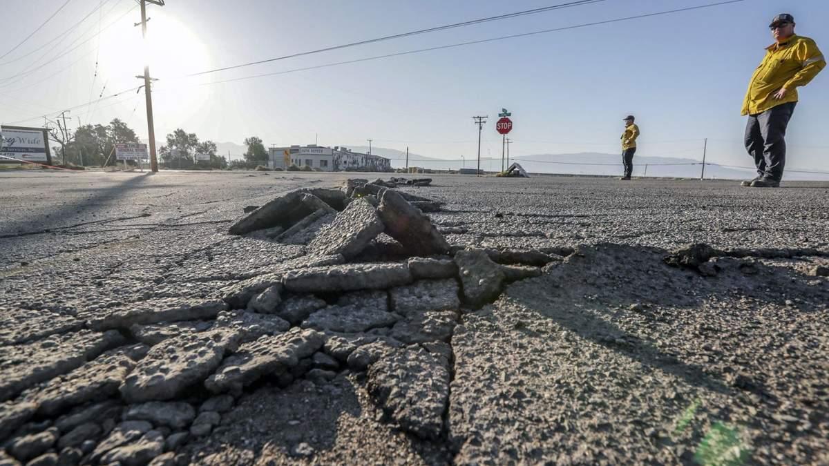 У Каліфорнії стався землетрус магнітудою 5,8