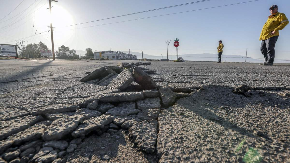 В Калифорнии произошло землетрясение магнитудой 5,8