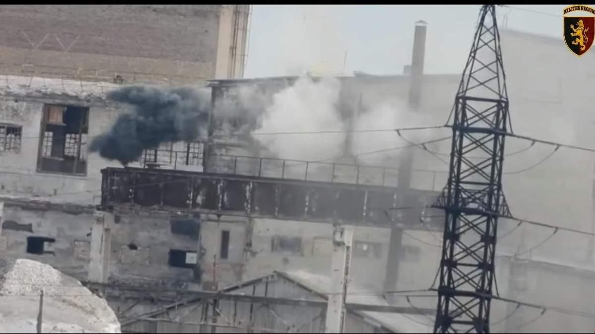 Момент знищення російської техніки ан Донбасі