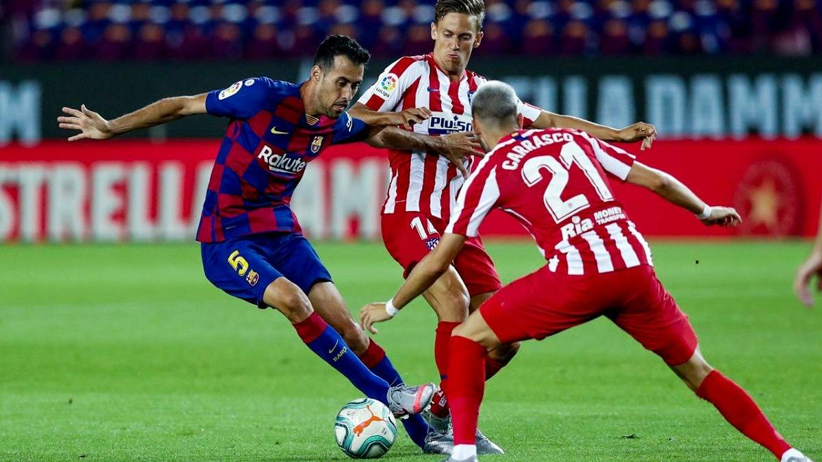 Барселона – Атлетіко: огляд, рахунок матчу 30.06.2020 – Ла Ліга