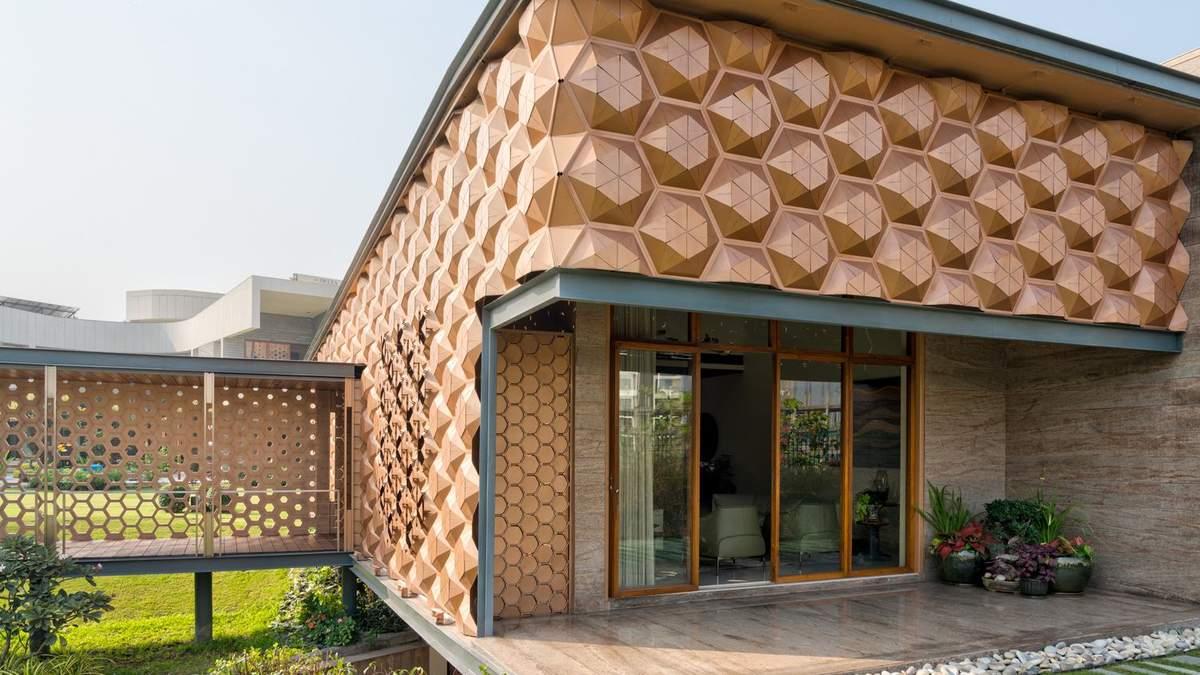 Вулик став основною темою для дизайну будинку
