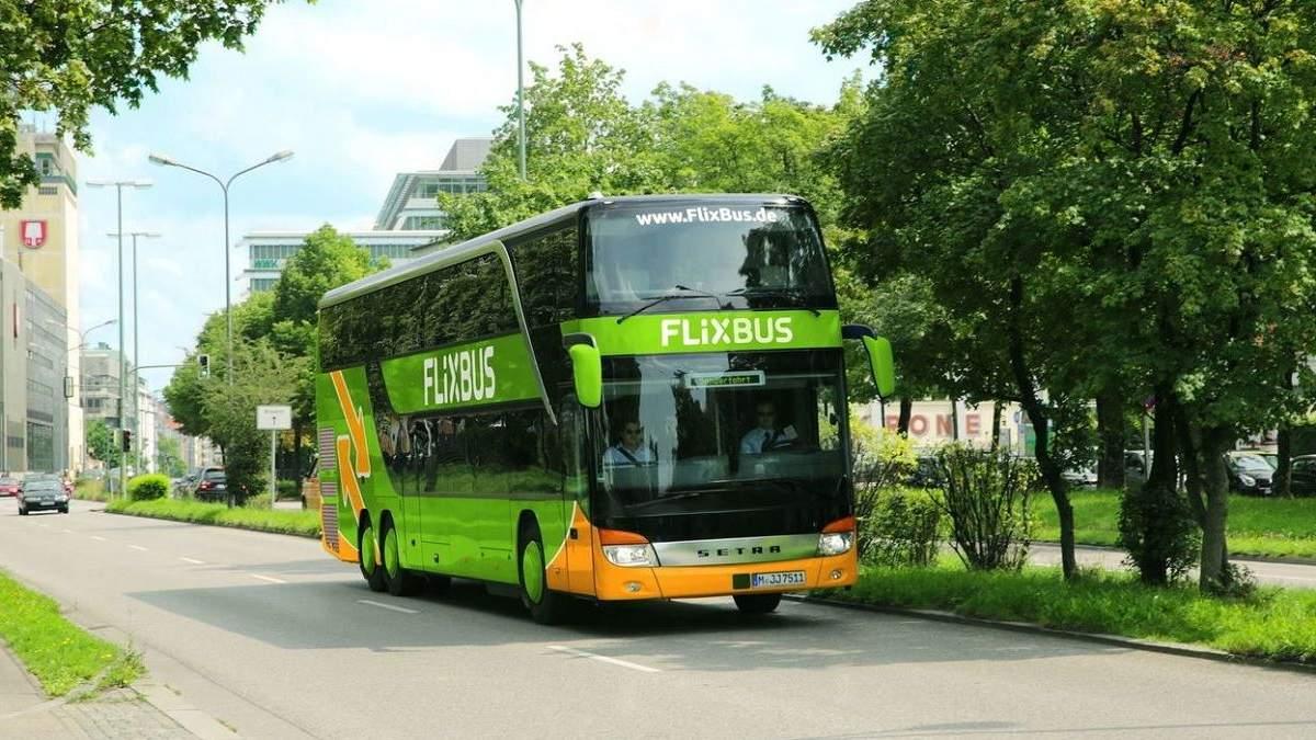 FlixBus відновлює з 25 червня 2020 рейси з України: напрямки