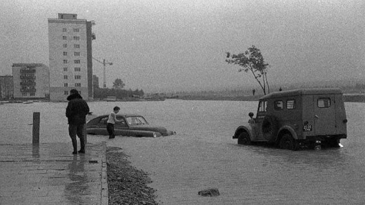 Повінь на Прикарпатті у 1969 році