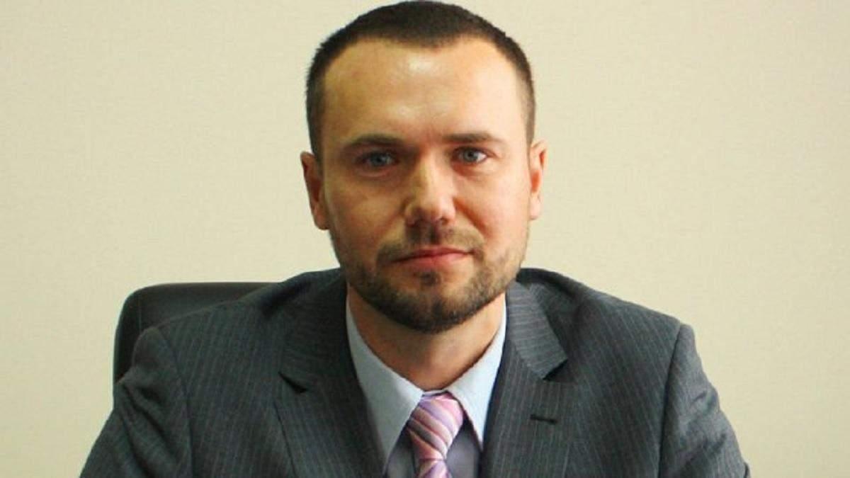 Сергей Шкарлет - исполняющий обязанности министра образования