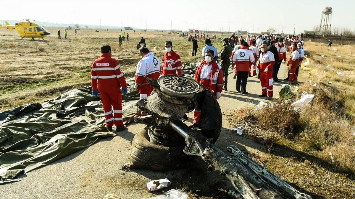 В Ірані покарали студентів за вшанування жертв збитого літака МАУ