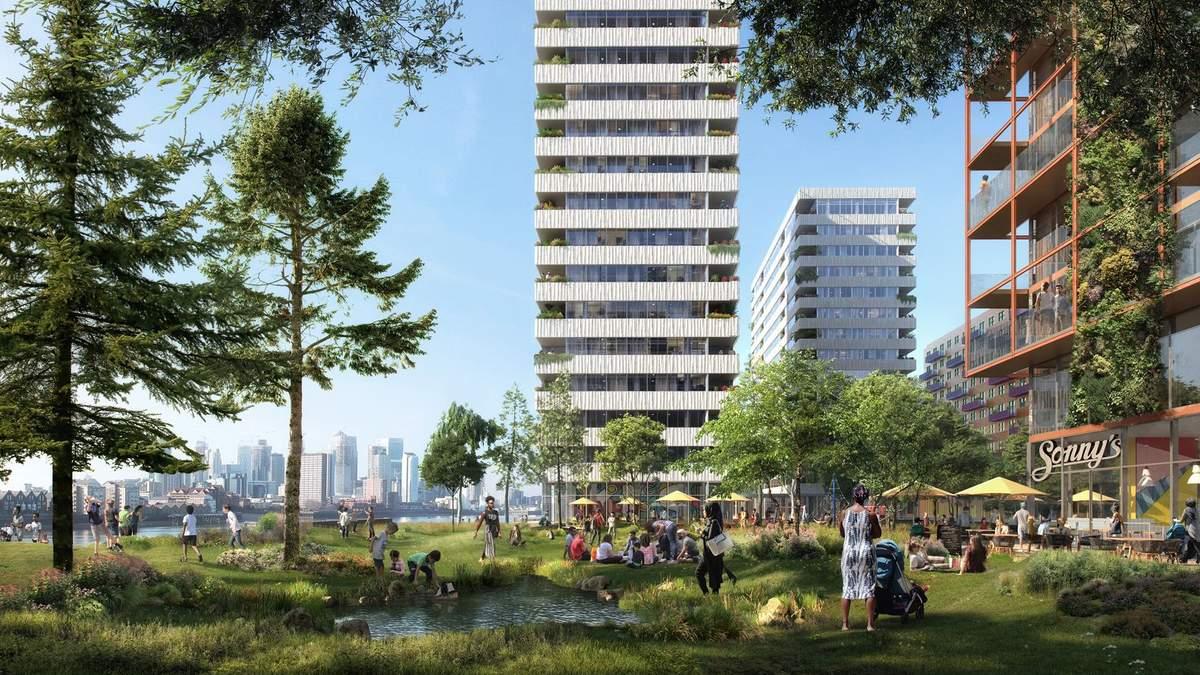 В Лондоні виросте новий квартал