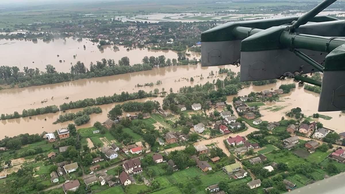 Наводнения в Западной Украине: убытки достигли почти миллиарда гривен