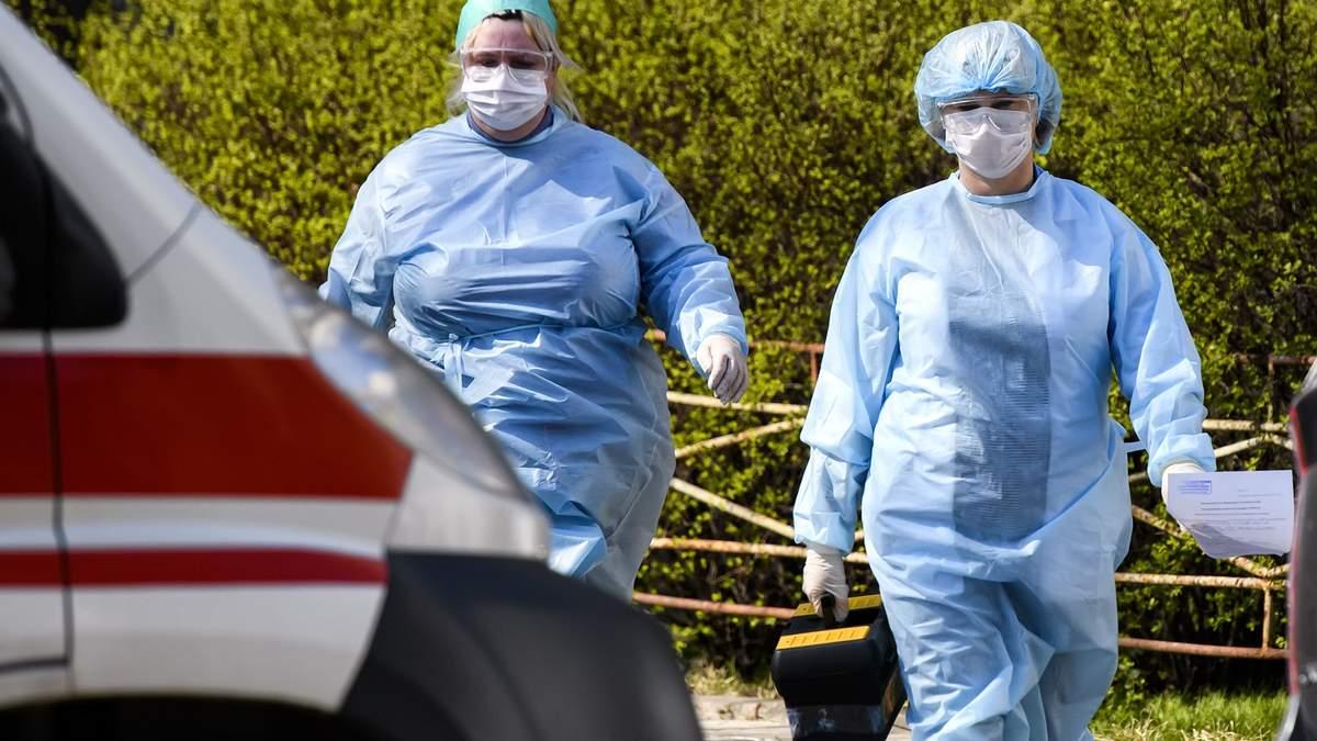 На Рівненщині інфекційні відділення лікарень для хворих на COVID-19 заповнені на 70%