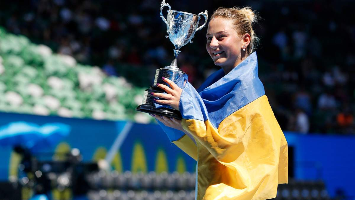 Марта Костюк – переможниця Australian Open 2017 року серед юніорок