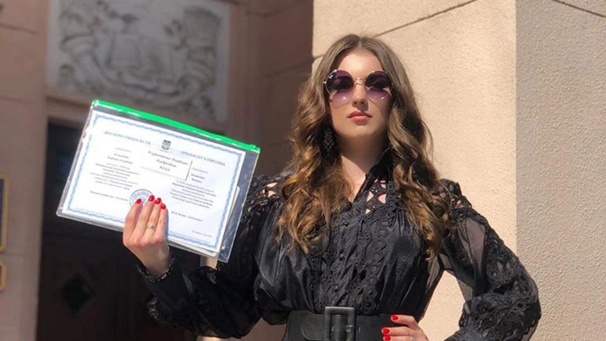 Донька Скрябіна здобула освіту лікаря