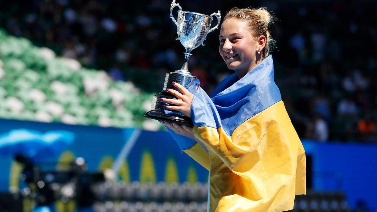 Марта Костюк – победительница Australian Open 2017 года среди юниорок