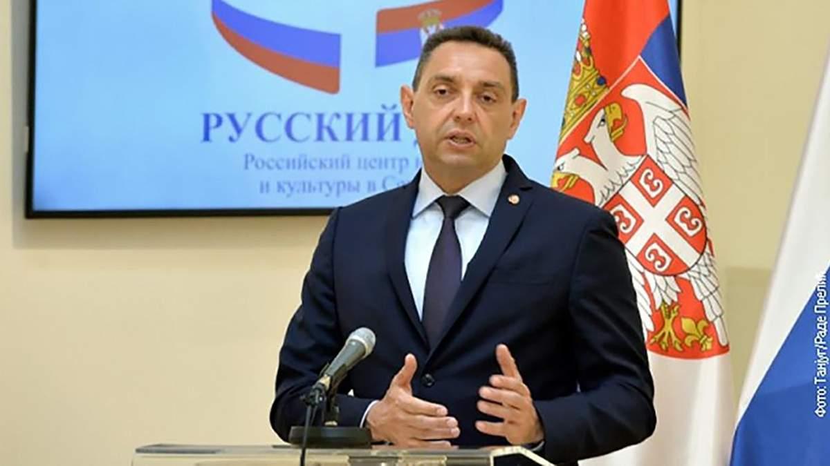 Міністр оборони Сербії Александар Вулін заразився коронавірусом