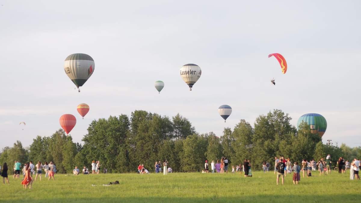 Фестиваль повітряних куль під Києвом