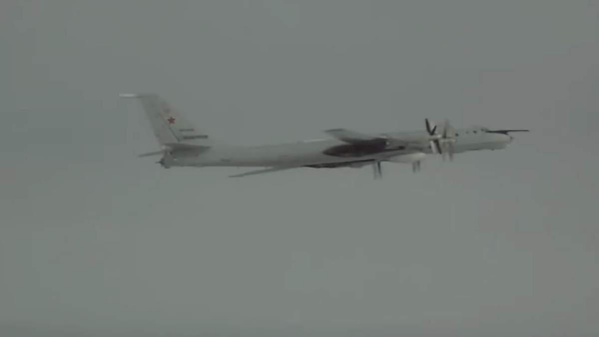 Російські військові літаки Ту-142 вісім годин кружляли біля Аляски