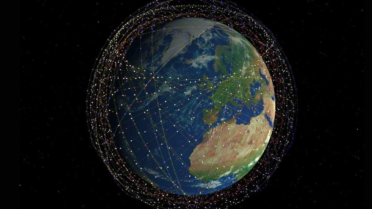 Starlink — интернет от Илона Маска фото антенн