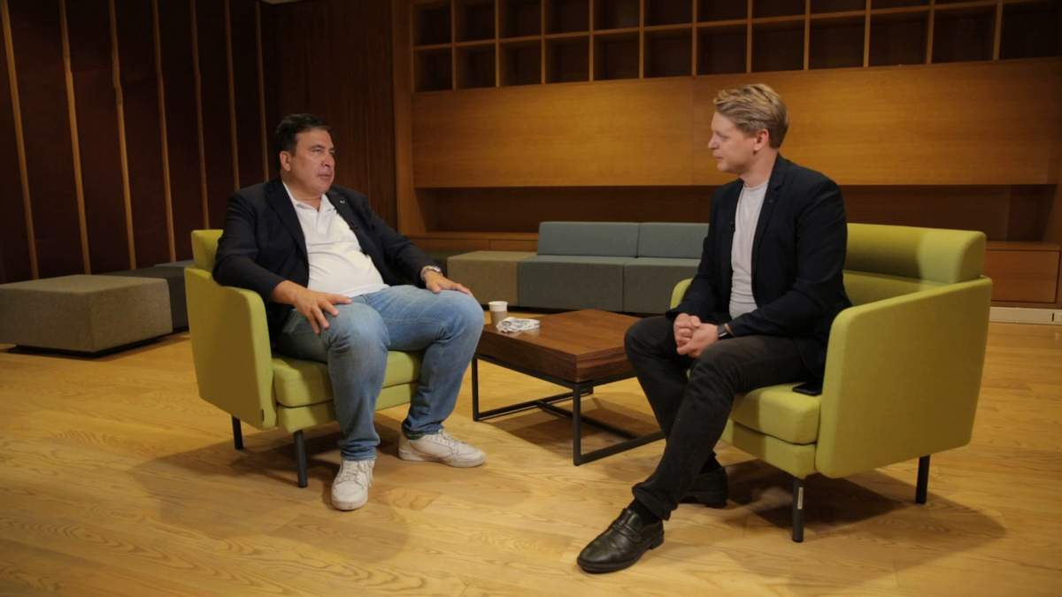 Интервью с Михаилом Саакашвили