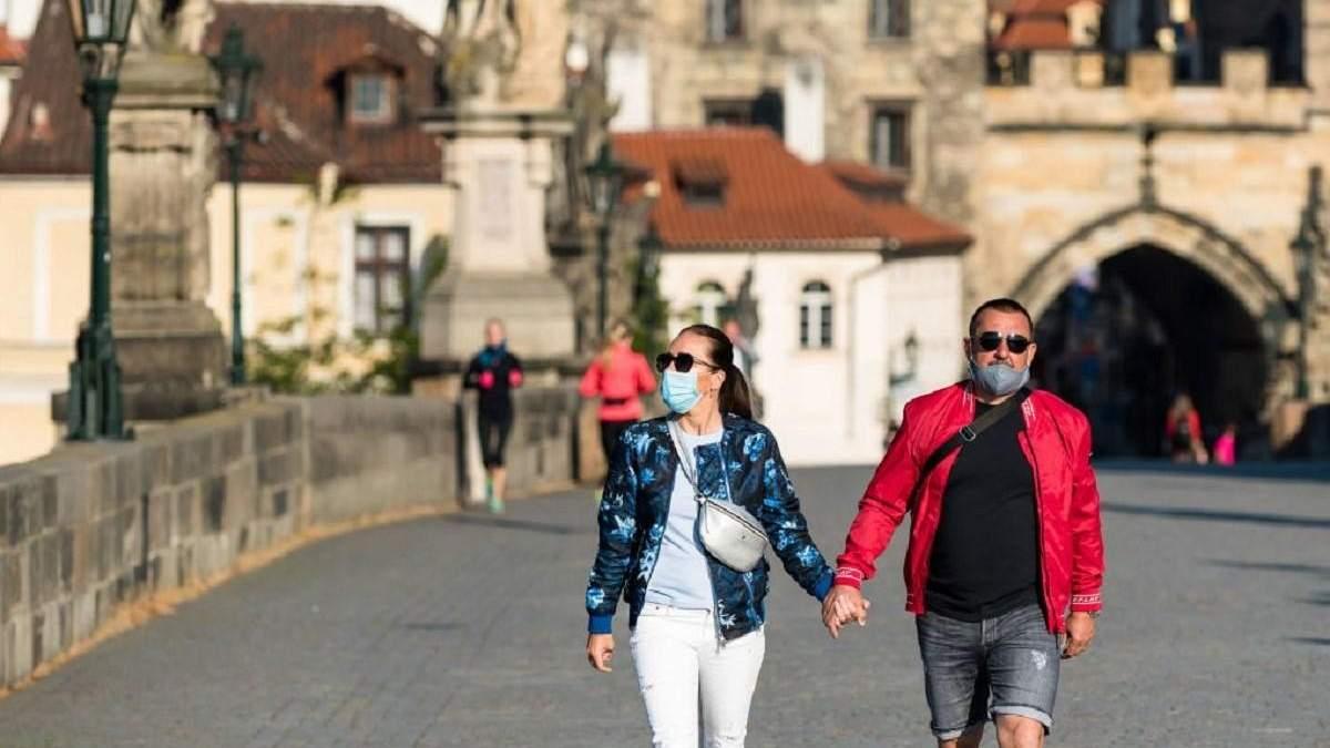 Коронавірус і Чехія: кількість хворих і померлих