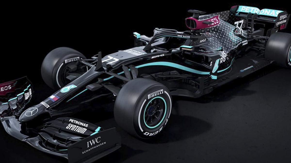 Mercedes изменил ливрею