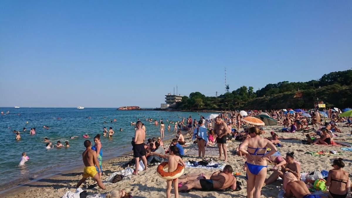 Пляжі Одеси 2020 і карантин: на яких пляжах краще не купатися
