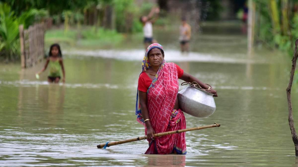 Наводнение в Индии 2020: миллион пострадали, есть жертвы – фото, видео