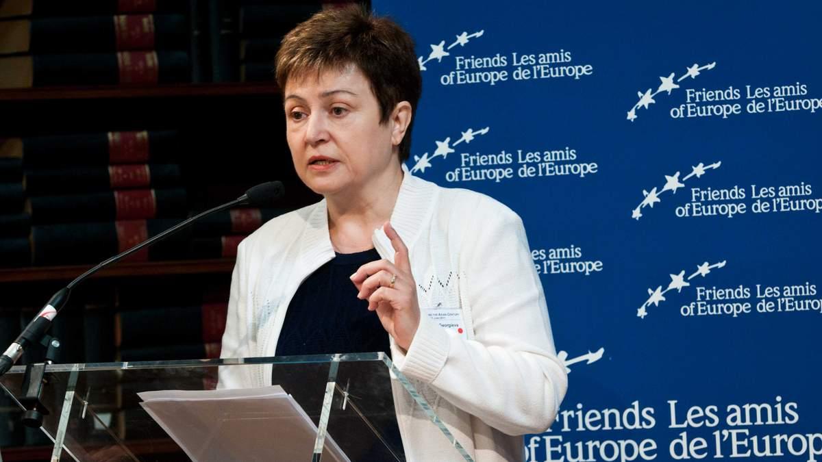Кристалина Георгиева, директор-распорядитель МВФ