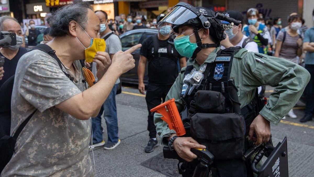 Китай ухвалив закон про національну безпеку Гонконгу