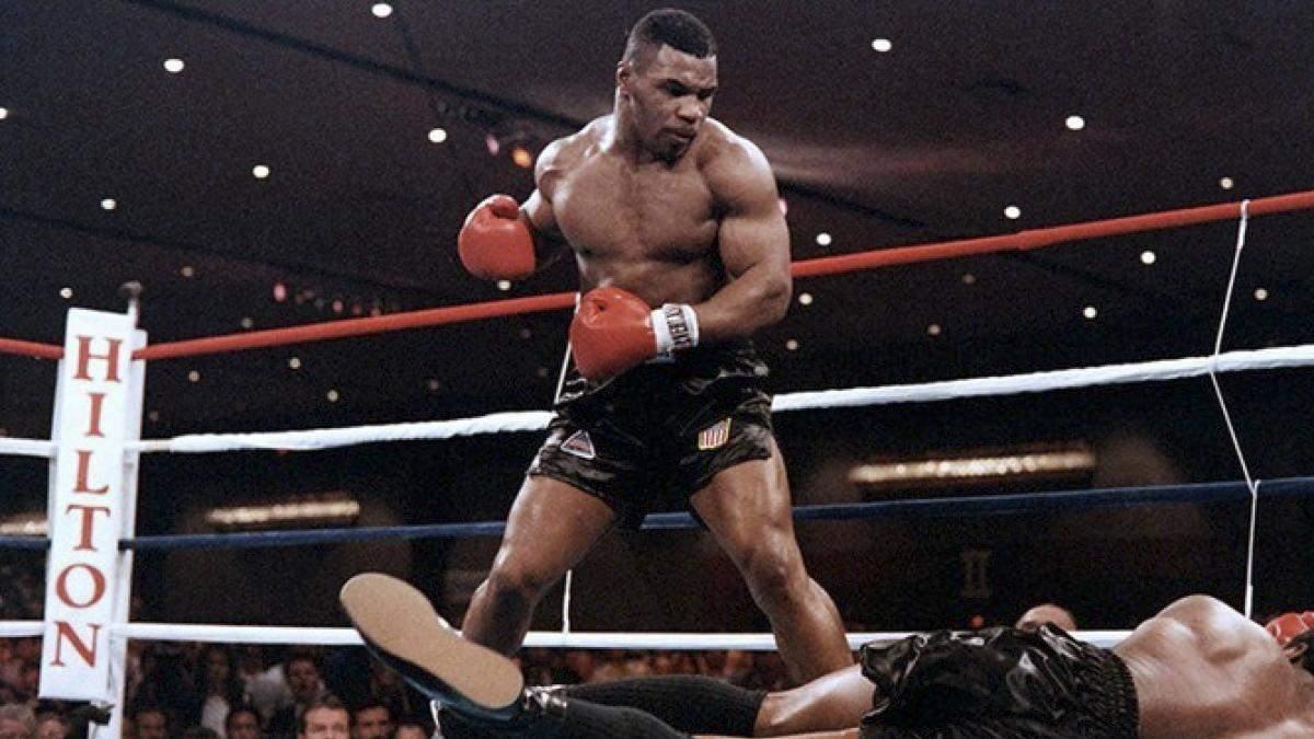 Майк Тайсон лучшие нокауты боксера – видео