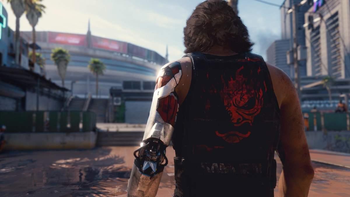Кадр из игры Cyberpunk 2077